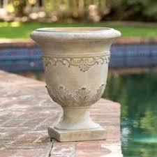 Urn Planters With Pedestal Vintage Brass Vase Urn Planter Pot With Handles And Pedestal
