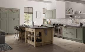 light oak shaker kitchen cabinets wakefield classic shaker in cardamom and light oak