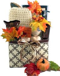 Spa Gift Baskets For Women Autumn Spa Gift Basket For Women Fall Gift Baskets Pinterest