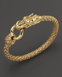dragon bracelet jewelry images Lyst john hardy naga 18k yellow gold dragon bracelet with gold jpeg