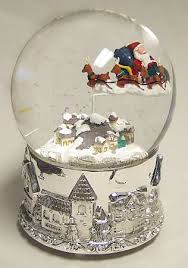 musical snow globes palle di neve musical