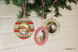 diy washi photo ornaments