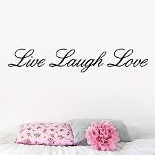 live laugh love art diy black quotes wall decals live laugh love art vinyl removable
