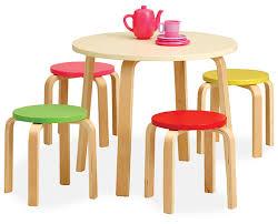 little tea table set seating moppet kids 5 pc table set library furniture pinterest
