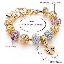 flower beaded bracelet images Silver diy jewelry charm flower beads bracelet d s star collections jpg