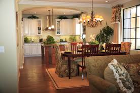 Kitchen Family Room Design - Kitchen and family room