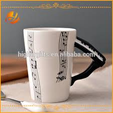 Fancy Coffee Mugs Personalized Funny And Fancy Music Mug Piano Shaped Handle