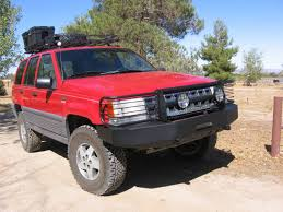 1994 jeep grand accessories custom 4x4 fabrication introduces a line of grand zj