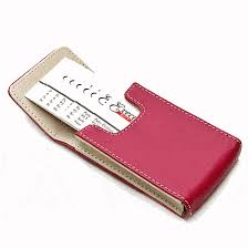 Engraved Leather Business Card Holder Pastel Pink Faux Leather Business Card Holder Executive Gift Shoppe