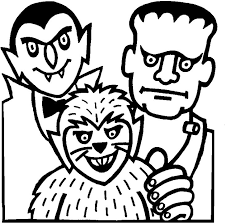 drawing werewolves coloring page werewolf outline by the nk on