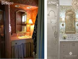 Before And Afters Clients Paint by Before U0026 After Master Bathroom Remodel U2014 A Well Dressed Home