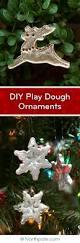 Homemade Christmas Tree Decorations Dough Craft Cottage Diy Play Dough Ornaments