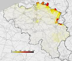 belgium and netherlands map thematic mapping in belgium mappixie
