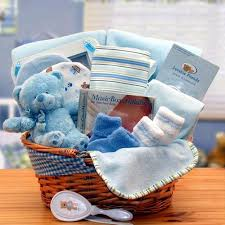 new gift baskets simply the baby basics new baby gift basket blue walmart