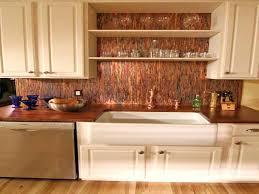 Copper Backsplash Tiles For Kitchen Copper Glass Tile Backsplash Kitchen Copper Tile Kitchen Ideas