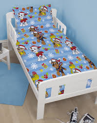 Christmas Duvet Cover Sets Paw Patrol U0027christmas Snowflake U0027 Junior Duvet Cover Set U2013 Junior