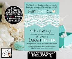 baby and co baby shower invitation breakfast at party themed boy