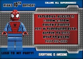 spiderman birthday invitations kustom kreations