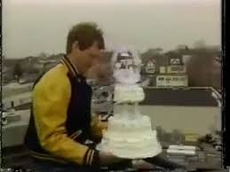 wedding cake gif david letterman 80s gif find on giphy