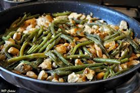 cuisiner des haricots verts frais poêlée d haricots verts poulet à la sauce soja et quinoa mp