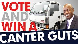 vote and win a mitsubishi canter guts special summer campaign