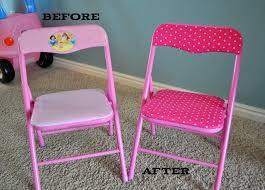 redo kids folding chairs kids room ideas pinterest kids