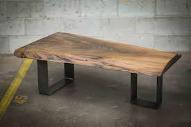 dining tables live edge table metal base live edge wood coffee