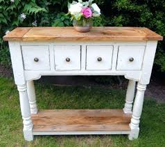 Rustic Hallway Table Console Table Painted Rustic Console Table Painted Finish Hallway