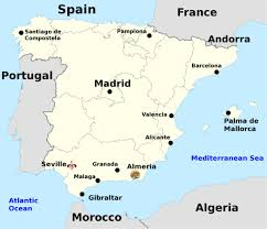 Map Of Spain And France by Galactic Backpacking U2013 Visit The Sets The Florida Garrison