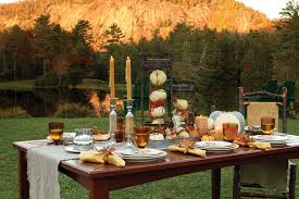 set a stylish thanksgiving table the cottage journal