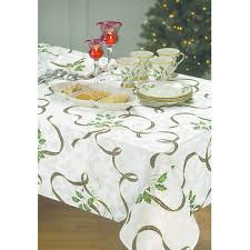 arbor hill lenox tablecloth and napkin set bj s