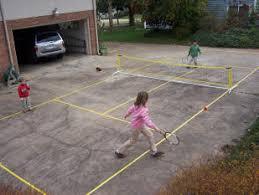 ned u0027s mini tennis court system portable net balls u0026 lines