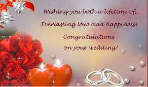wedding congrats card 52 happy wedding wishes for on a card