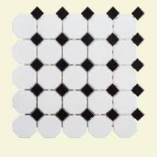 jeffrey court retro octagon white dot 11 1 2 in x 11 1 2 in x 6