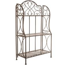 Sei Bakers Rack Antique Bronze Iron 3 Tier Baker U0027s Rack Hobby Lobby 518423