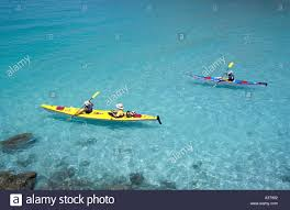mexico baja espiritu santo island double sea kayak and single