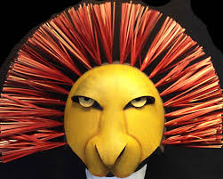 timon and pumbaa halloween costumes for adults lion king mufasa or simba mask head child sizes