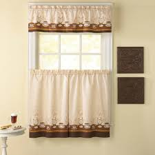 Window Curtain Valance Kitchen Fabulous 24 Inch Tier Curtains Jcpenney Kitchen Curtains