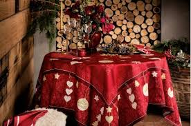 christmas tablecloth l hiver winter tablecloth christmas tablecloths