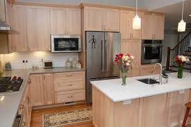 kitchen remodel with wood cabinets cabinets silver md