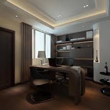 excellent small home office interior design layout showing off