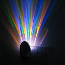 plug in projector night light colour projector sensor night light plug in