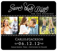 Save The Date Photo Magnets Fancy Script Save The Date Magnet
