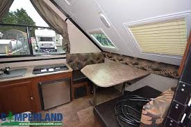 2017 forest river rockwood a122s a frame hard side pop up camper