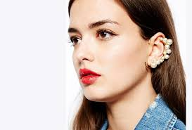 how do you wear ear cuffs vintage ear cuff innovative wearing in winter jewelry gossip