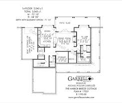 Cottage House Plans With Basement Harbor Breeze Cottage House Plans By Garrell Associates Inc