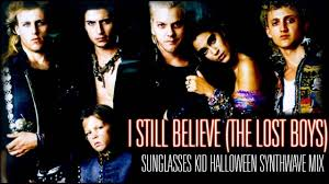 i still believe the lost boys synthwave cover youtube