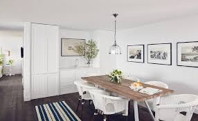 White Wooden Dining Table And Chairs Salvaged Wood Dining Table With White Wicker Dining Chairs