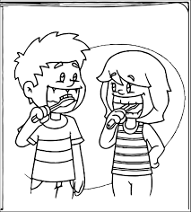 Brush Teeth Brushing Teeth Coloring Pages 4fbb8 Clip Art Image Brushing Teeth Coloring Pages
