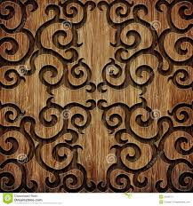 carved wooden pattern stock image image of abstract 35266751